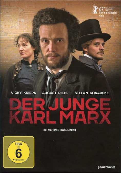 THE YOUNG KARL MARX - DVD/ Blu-ray is out now